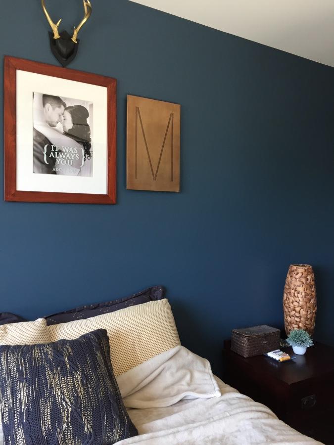 Feeling Blue in theBedroom
