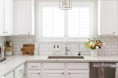 kitchen-subway-tiles-half-tiled-backsplash-lantern-above-sink